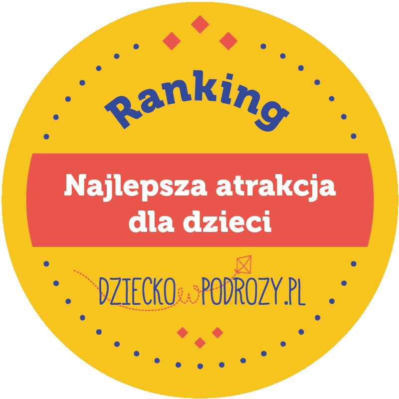 5 miejsce i tytuł Najlepszej Atrakcji Turystycznej 2020!